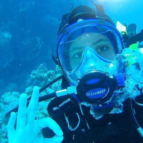 IDS Aalst - PADI full mask diver